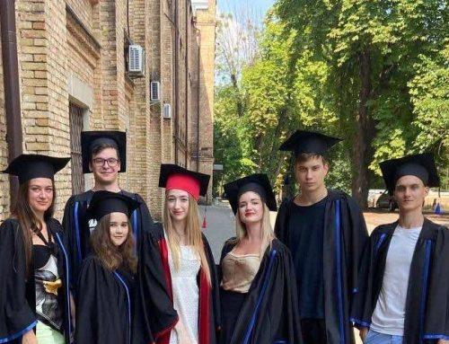 Вітаємо наших бакалаврів та магістрів із врученням дипломів!